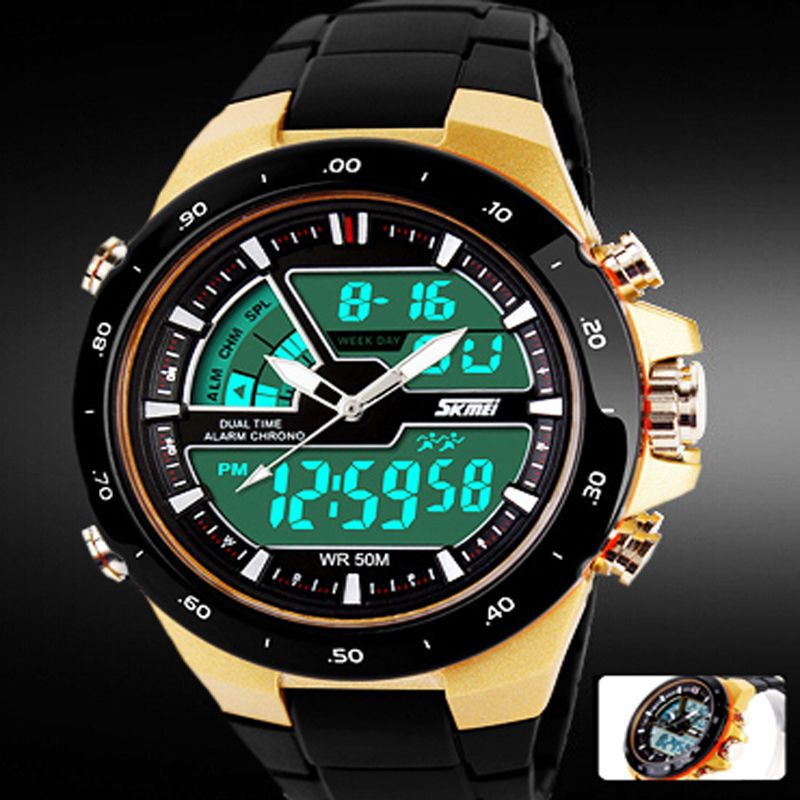 03f6b323d9d READ LED Military Grade Sport Watch for Men
