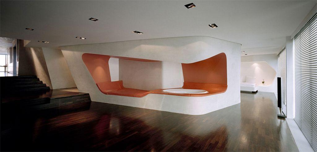 Interior Design Concepts Futuristic Loft Interior