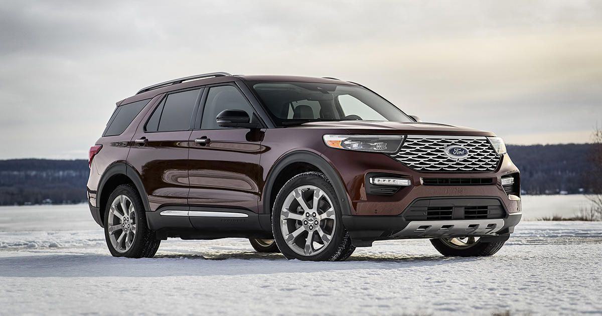 2020 Ford Explorer Vs The Chevy Traverse Honda Pilot Kia