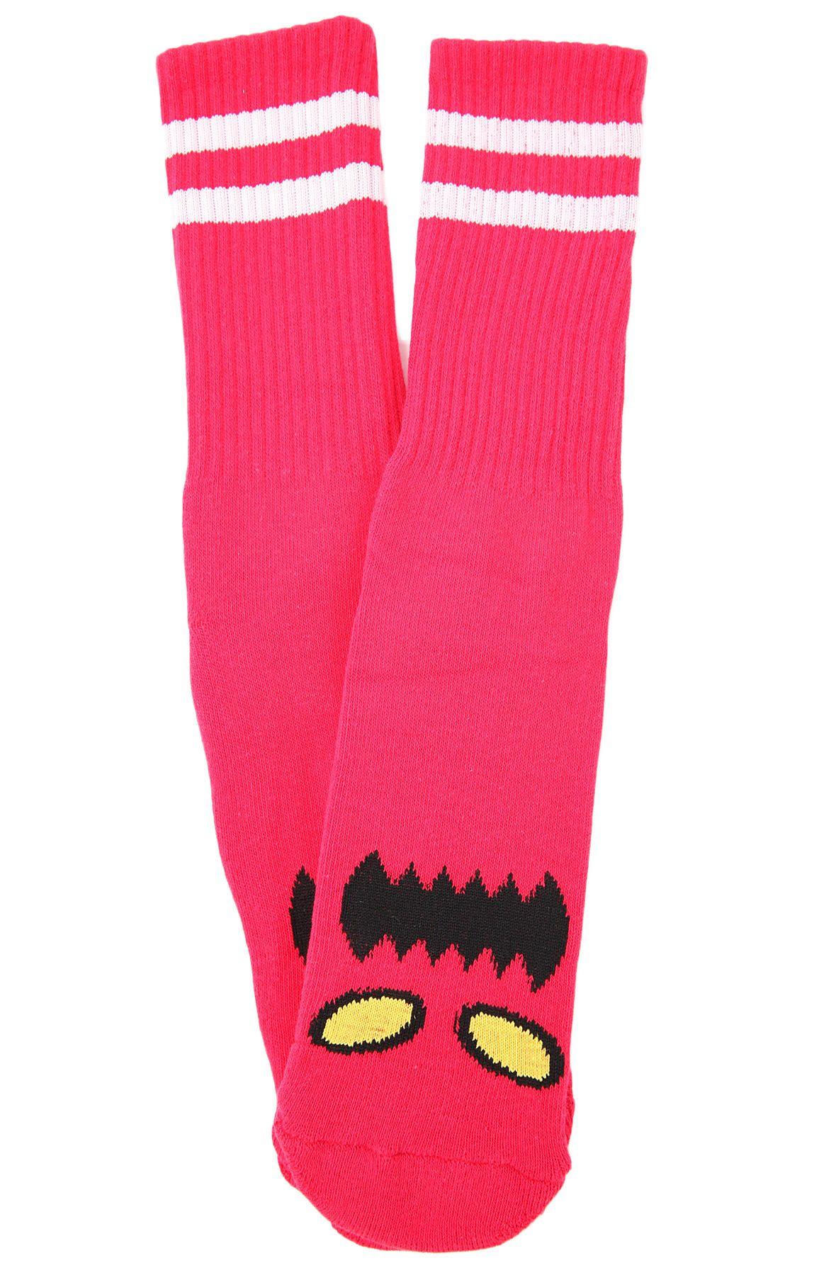 Toy Machine Monster Face Sock Bts Pinterest Socks Deck Sect Eye Orange