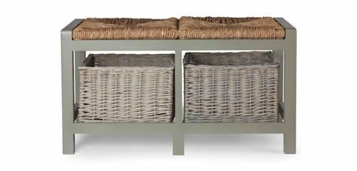 Charming Hallway Storage Bench   2 Seat   Shoe Cupboards | Shoe Storage Benches |  Shoe Cabinets