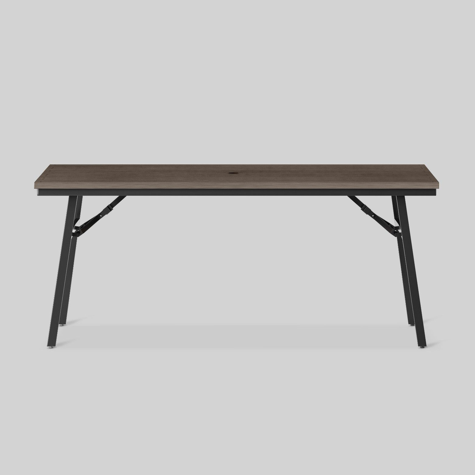 Mantega Faux Wood Folding Patio Dining Table Project 62™ Tar