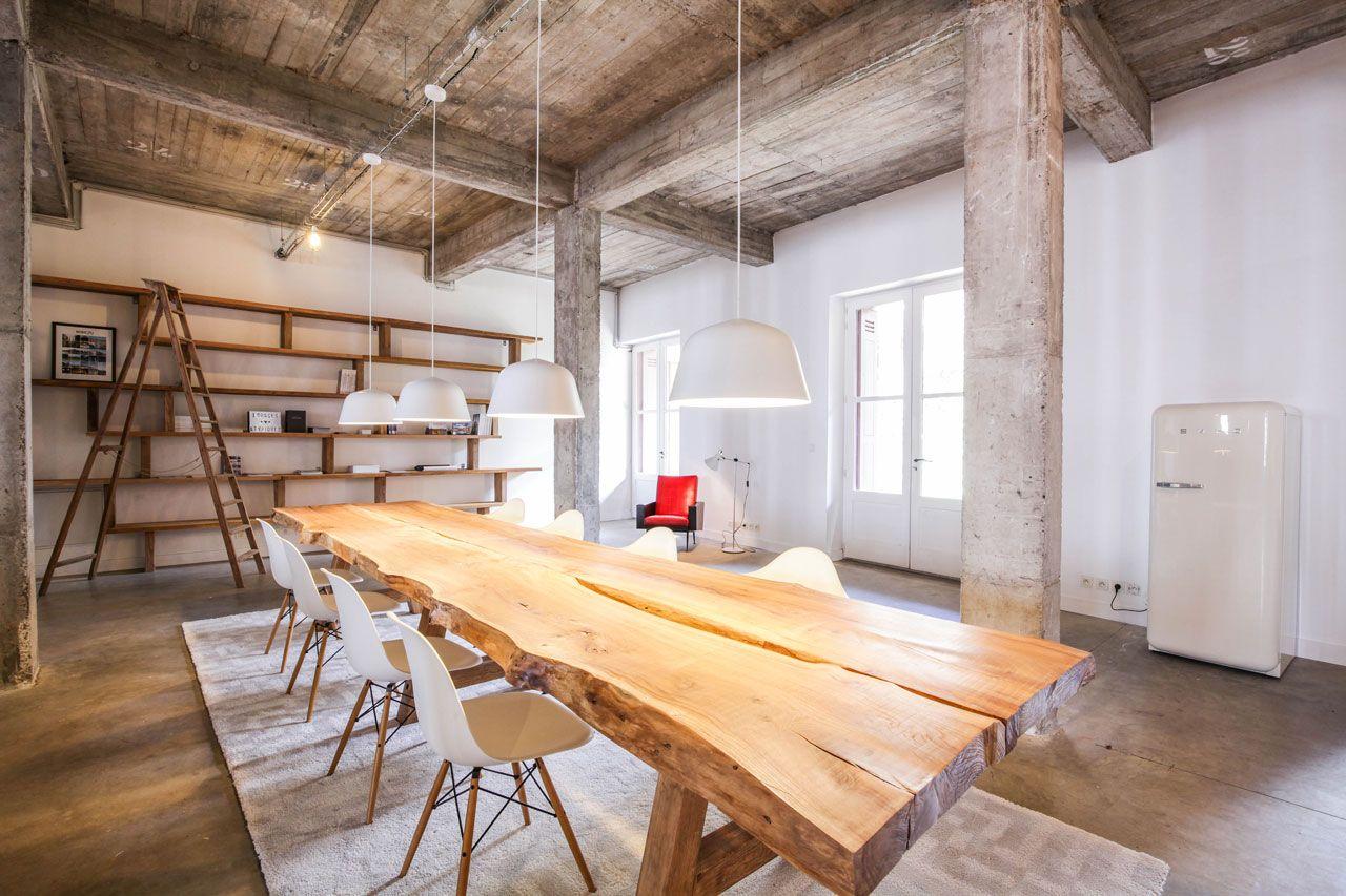 Pin by mélanie daniel on loft office decor open