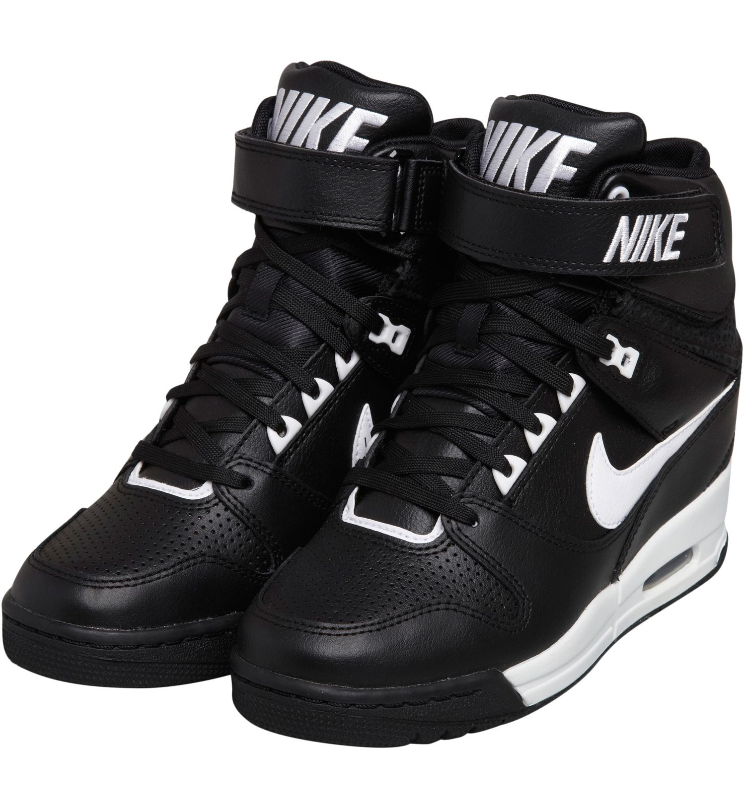 sale retailer 09fe6 21ca6 Accueil Nike Baskets Air Revolution Sky Hi Noir
