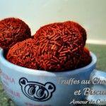 truffes au chocolat et biscuits #truffesauchocolat