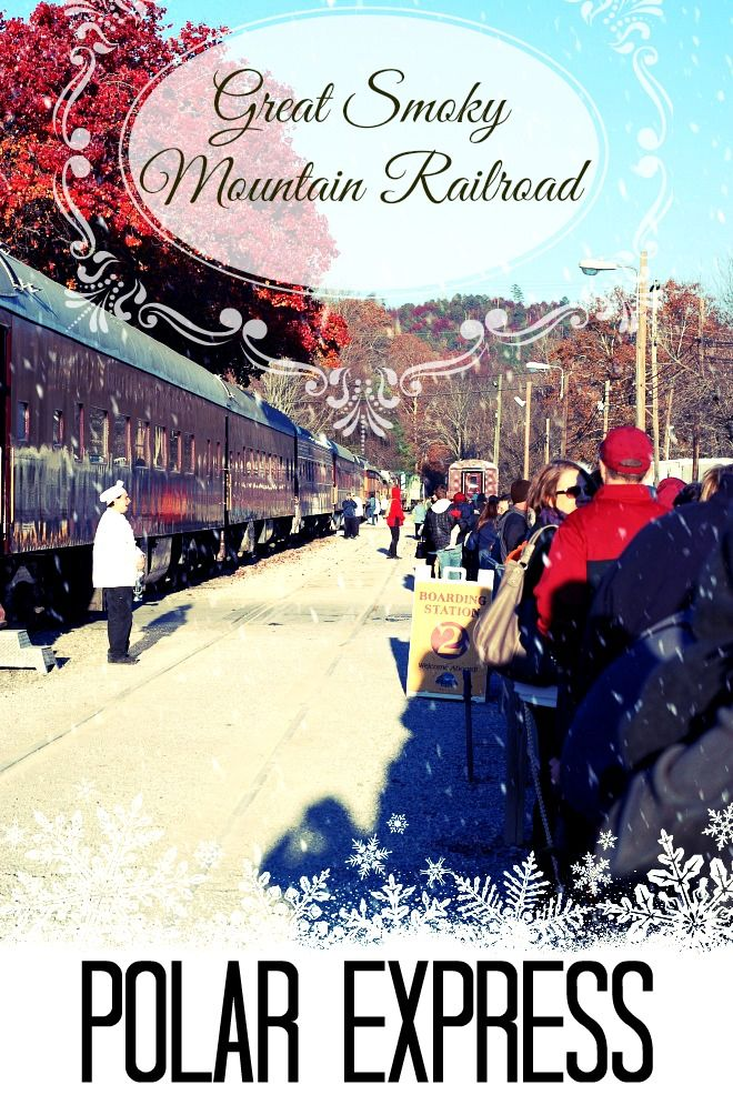 A Bryson City Christmas We Celebrate Holidays In A Big Way The Streets Are Decorated With Holiday Lights Bryson City Polar Express Family Friendly Holidays