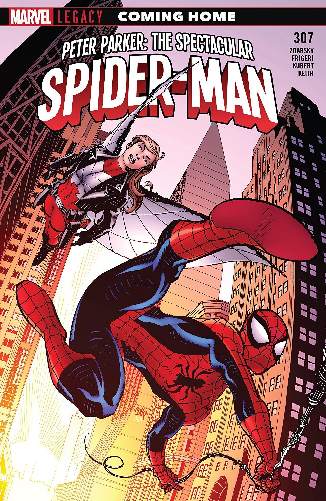 Peter Parker The Spectacular Spider Man 2017 2018 307 Comics By Comixology Spiderman Spectacular Spider Man Marvel Comic Books
