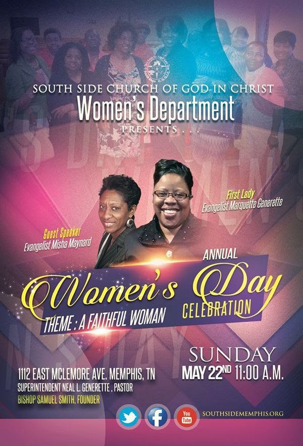 South Side COGIC Women's Dept presents their Annual Women's Day on