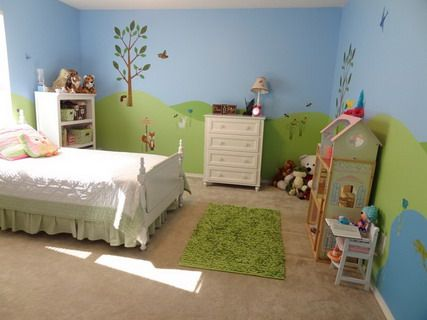 beautiful forest farm wall murals stickers for kids bedroom wall decorating designs ideas - Wall Murals For Kids Bedrooms