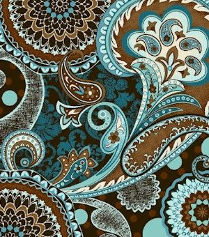 I like this paisley example. I'd like a blend of this and the henna so I'm not too terribly far in out right cultural appropriation territory.  love the colors and pattern. Paisley!