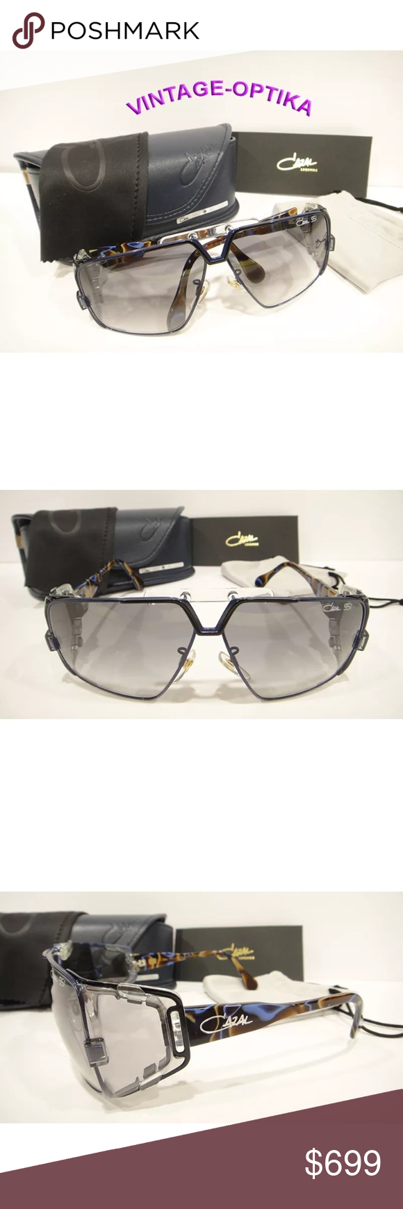 58efc5cbce CAZAL 951 Sunglasses ANNIVERSARY Edition 001 New These are 100% Genuine