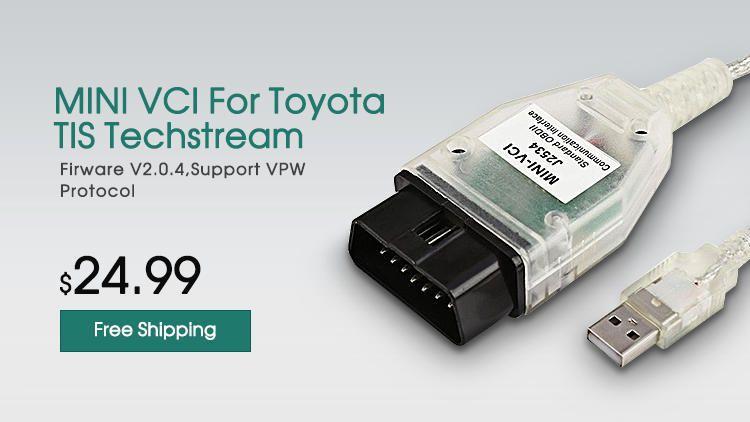 Mini VCI Toyota TIS Techstream Diagnostic Mini VCI J2534