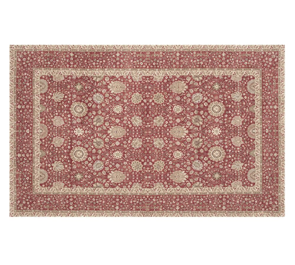 Tybee Printed Rug Warm Multi Products Texture