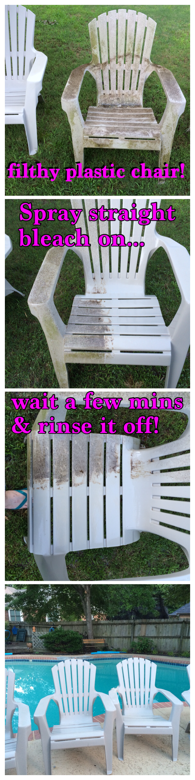 Cleaning Mildew Outdoor Gunk Off Plastic Outdoor Furniture Plastic Outdoor Furniture Outdoor Furniture House Mold
