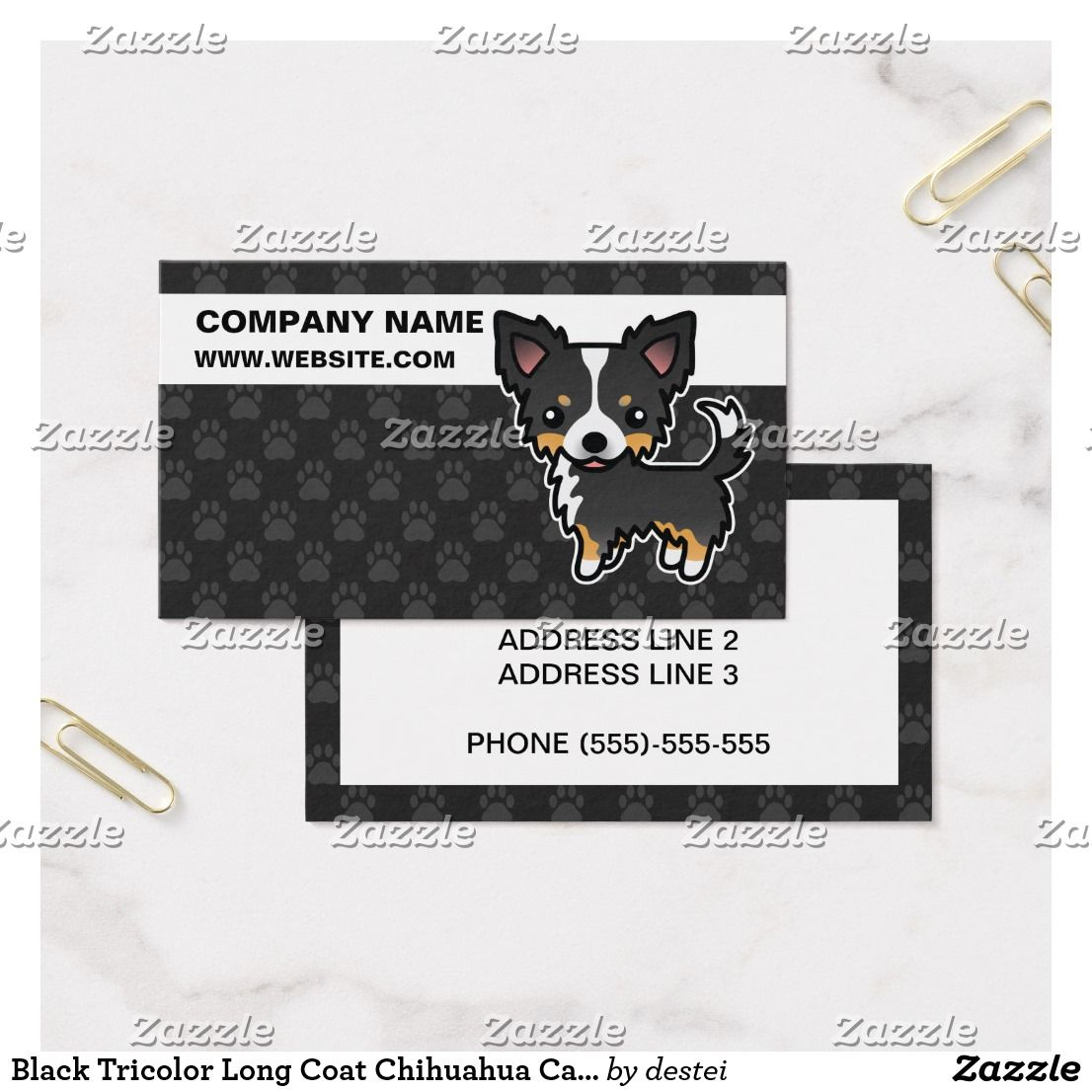Black Dog Business Cards Choice Image - Card Design And Card Template