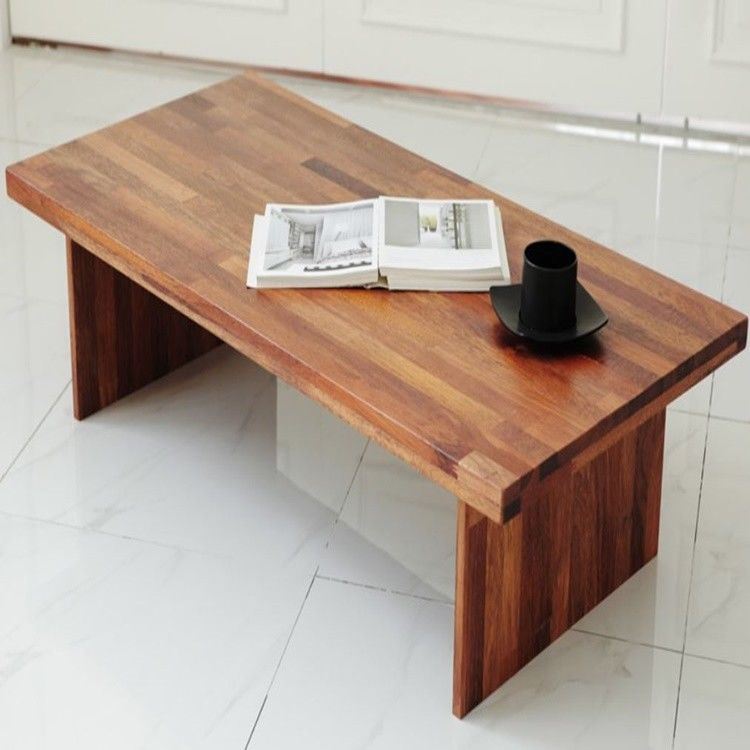Wooden Low Folding Table Tatami Japanese Style Modern Desk Coffee Laptop Unbranded