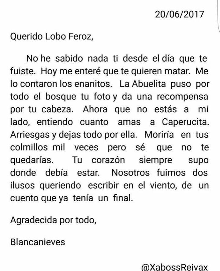Caperucita Roja Y El Lobo Feroz Cartas Pinterest Frases Y Quotes