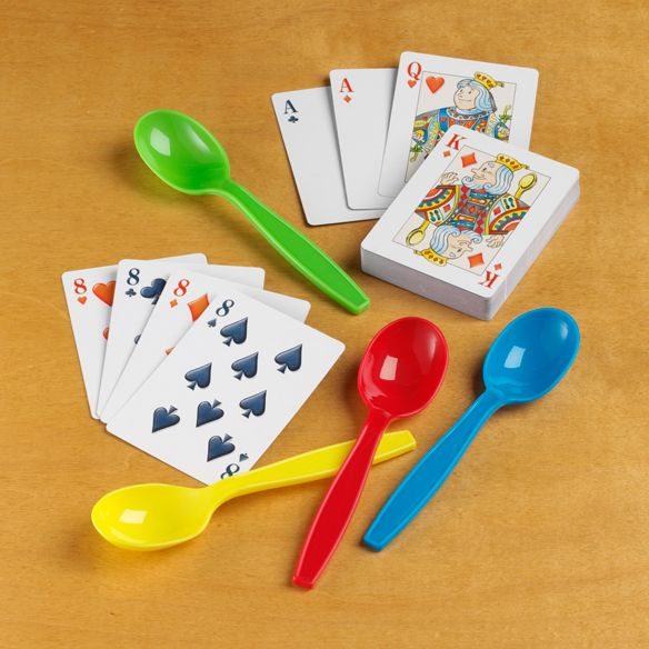Spoons Staple Card Game Of My Youth I Remember Playing Wild