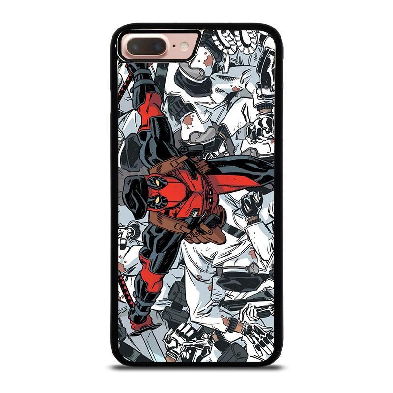 Deadpool marvel comic iphone 8 plus case cover