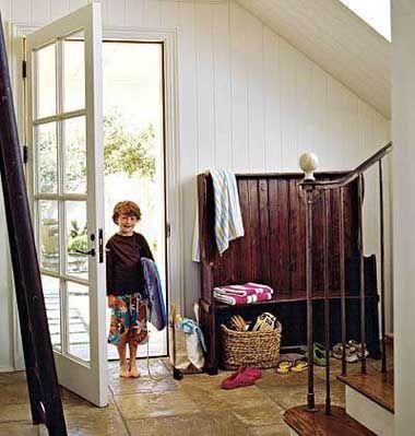 50 fotos e ideas para decorar entradas recibidores halls - Recibidores de casas modernas ...