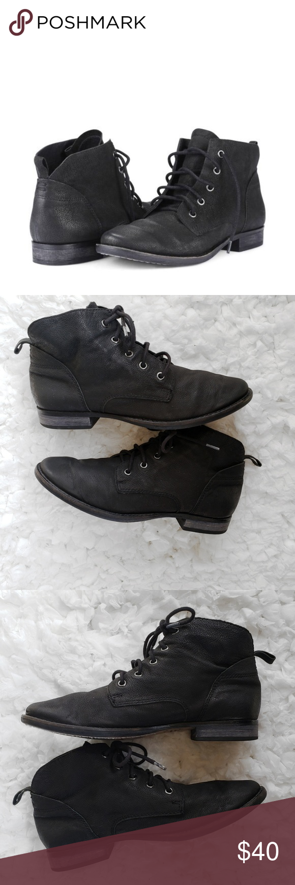 21da5d8a51c2b Sam Edelman Mare Black Leather Ankle Boots Well cared for and in excellent  condition. With