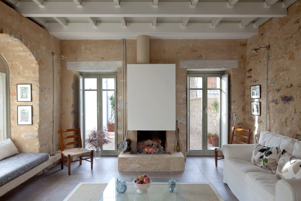 Reconstruction of a stone house in Trahila, Mani, Greece ... on Hhh Outdoor Living id=16087