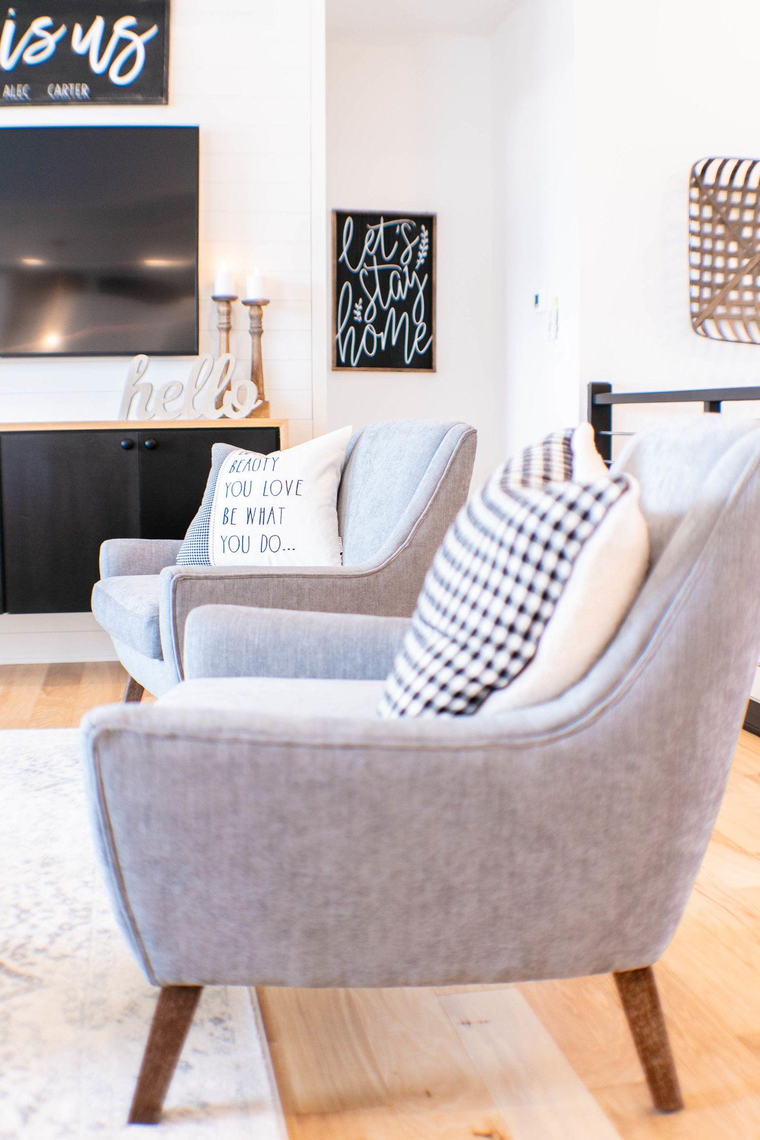 Best Modern Farmhouse Modern Farmhouse Living Room Accent 400 x 300