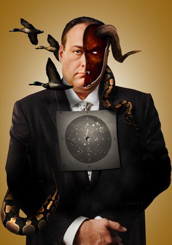 Tony Soprano   Los Soprano   Pinterest   Series y Películas