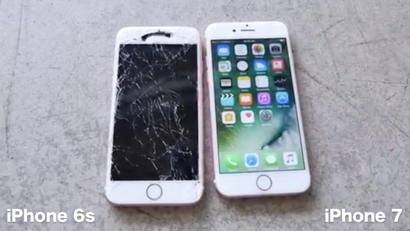 Iphone 7 Bests 6s In Durability Drop Test Survives Ten Foot Erapod Ipad Mac Face Down