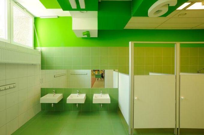 Colorful Inspiration Kindergarten Bathroom Design In Poland