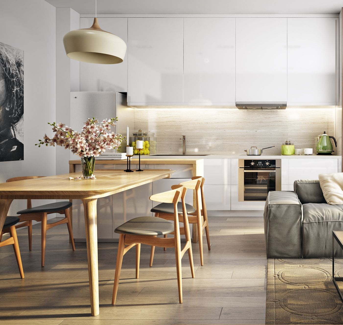 small apartment interior small apartment interior kitchen inspirations on kitchen interior small space id=91247