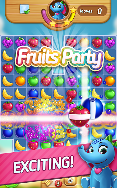 Pin en Download android games Fruits Mania Elly's travel