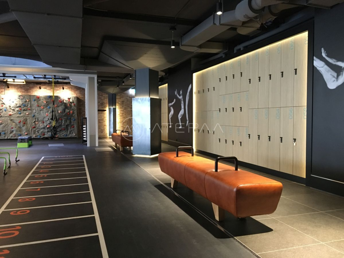 Gym Fitness Interiors Design Gym Lockers For Fitness Club With