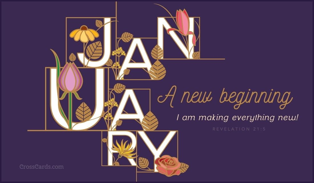 A New Beginning Email greeting cards, New beginnings