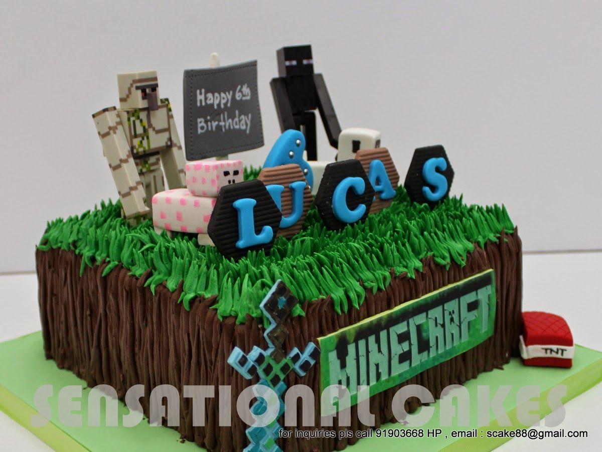 minecraft fondant cakes - Google Search