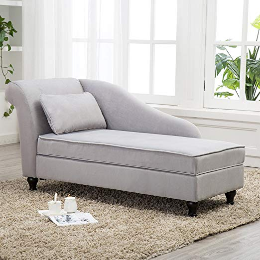 Amazon Com Modern Chaise Lounge Open Fold Spa Sofa Long Lounger For Bedroom Office Living Room Modern Chaise Lounge Chaise Lounge Sofa Storage Chaise Lounge