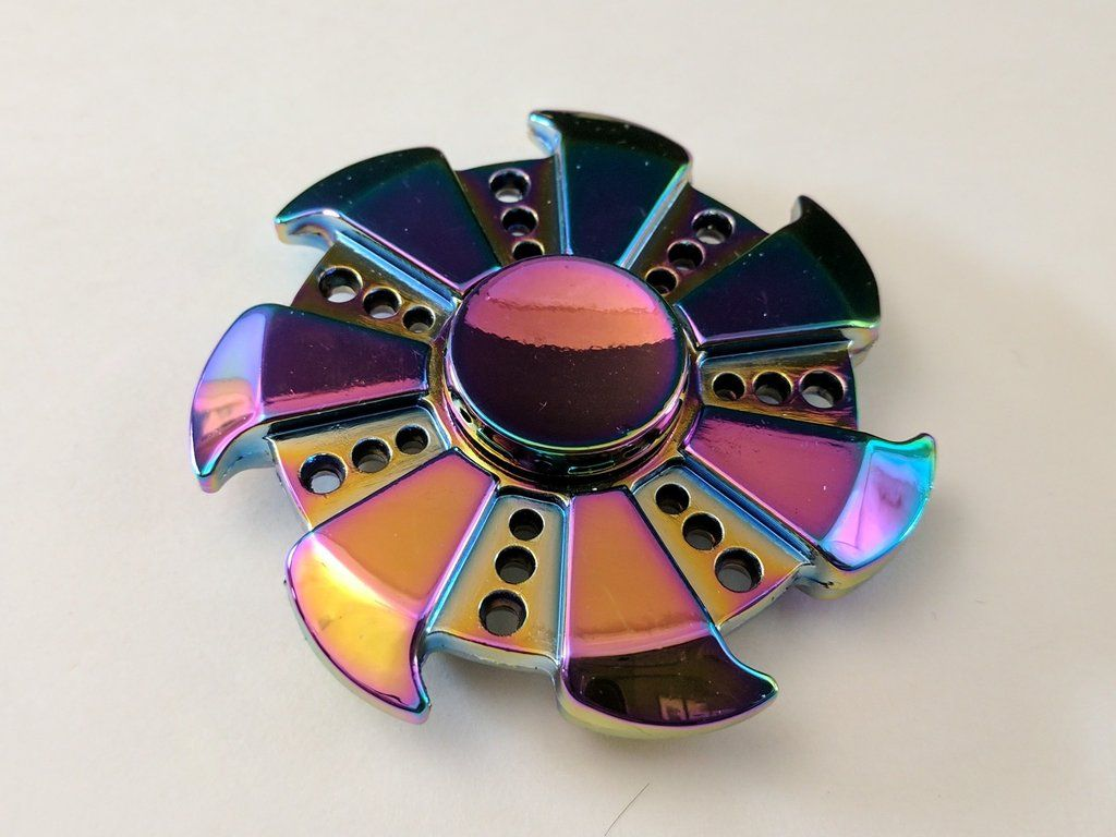 Sy tools custom producing hand spinner torqbar alec bass shells 50 66 - Trinity Tri Bar Rainbow Zinc Alloy Hand Spinner Fidget Toy Beautifully Crafted And Machined Of A Block Of Titanium Alloy With Hybrid Ceramic Bearing