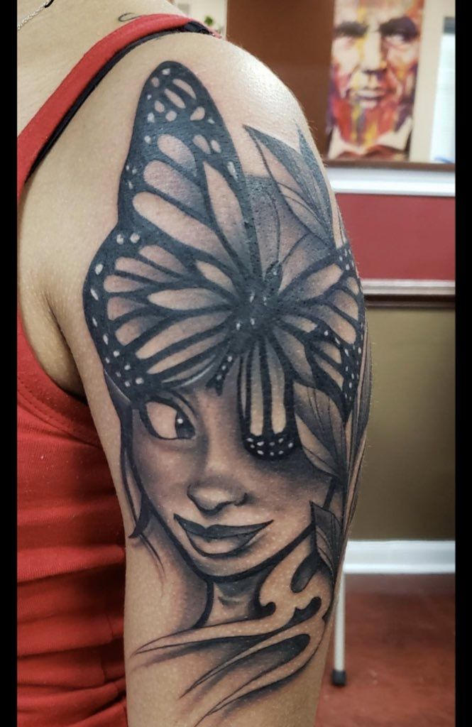 Photo of Amayia's Butterfly tattoo