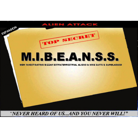 """M.I.B.E.A.N.S.S. (Men Investigating Bizarre Extraterrestrial Aliens in Nice Suits and Sunglasses), aka """"The M.I.Beans,"""" has assigned Special Agent X and his new partner Agent S to investigate the Alien sightings that have been reported near a small town. It is likely to be nothing, but it is important to investigate every sighting so not to miss anything. National Guardsmen Jenkins and Hill have been dispatched to aid the Agents to bring down the Alien threat!"""