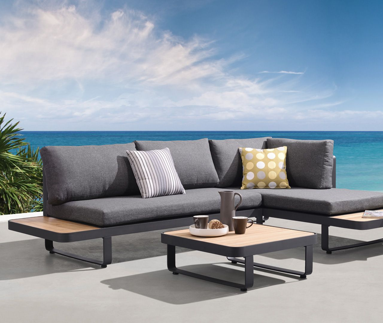Plattform Lounge New Polo Mobel Egger Lounge Mobel Balkon Lounge Mobel Outdoor Lounge Mobel