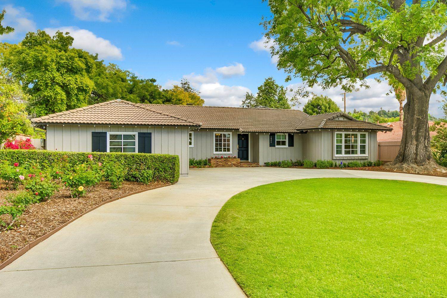California Ranch Style Homes Exterior Curb Appeal