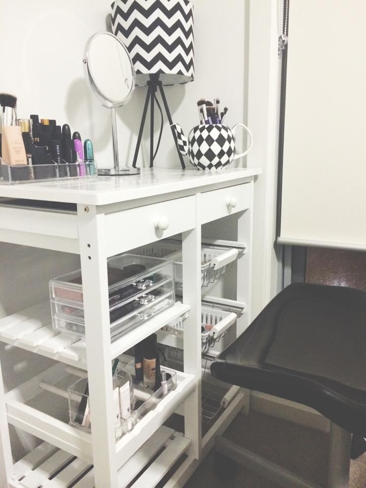 Kmart Bathroom Vanity Lights vanity - kmart kitchen trolley $39 *not my photo* | make up