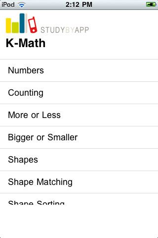 K Math Review 1 99 Study By App Is Now Offering Early