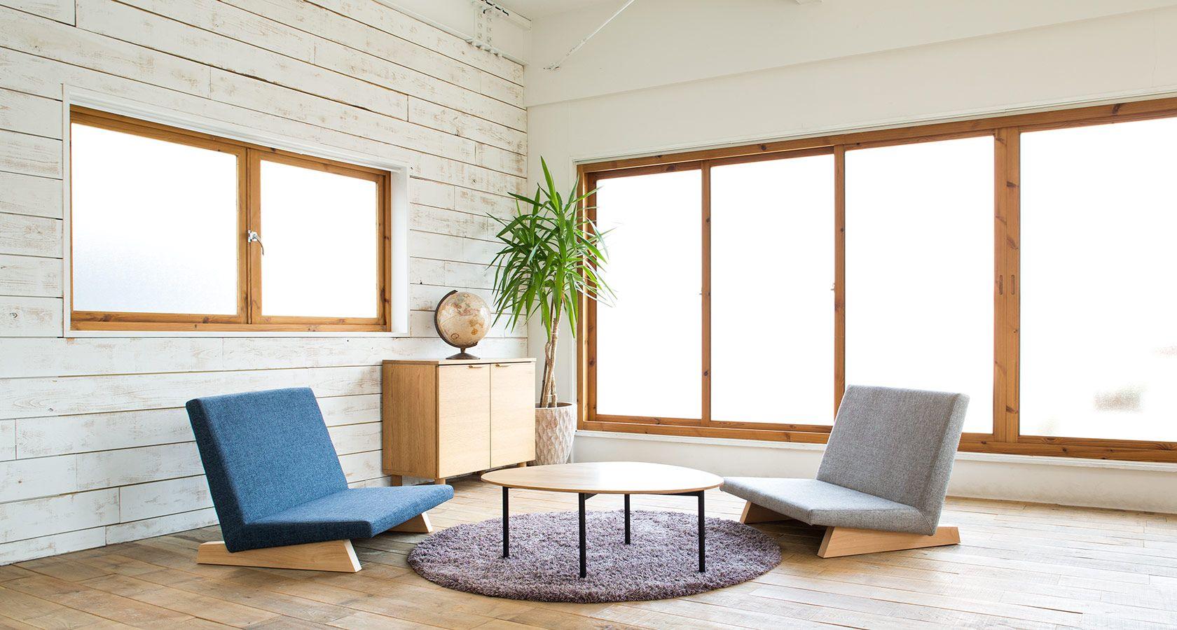 ロータイプソファのシンプルデザインソファ - PENTA 900 Chair ペンタ900チェア   ソファ専門店FLANNEL SOFA