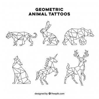 картинки по запросу Animales Dibujados Con Figuras Geometricas Leon