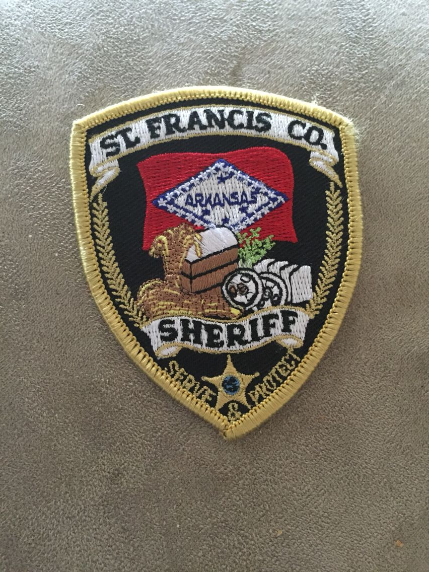 St francis county so hat patch hat patches police