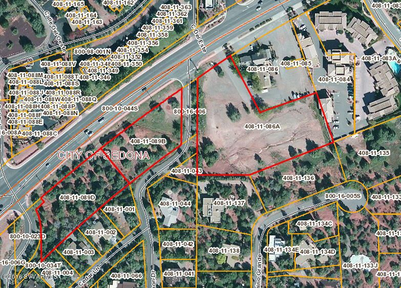 Large Parcels Of Commercially Zoned Vacant Land In The City Of Sedona 3285 3385 W State Route 89a Sedona Az 86336 Village Of Oak Creek City C Vacant Land
