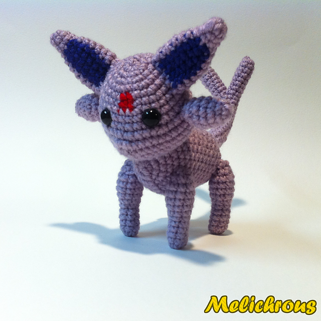 Espeon Pokemon Character ~ Free Amigurumi Pattern ~ PDF Download ...