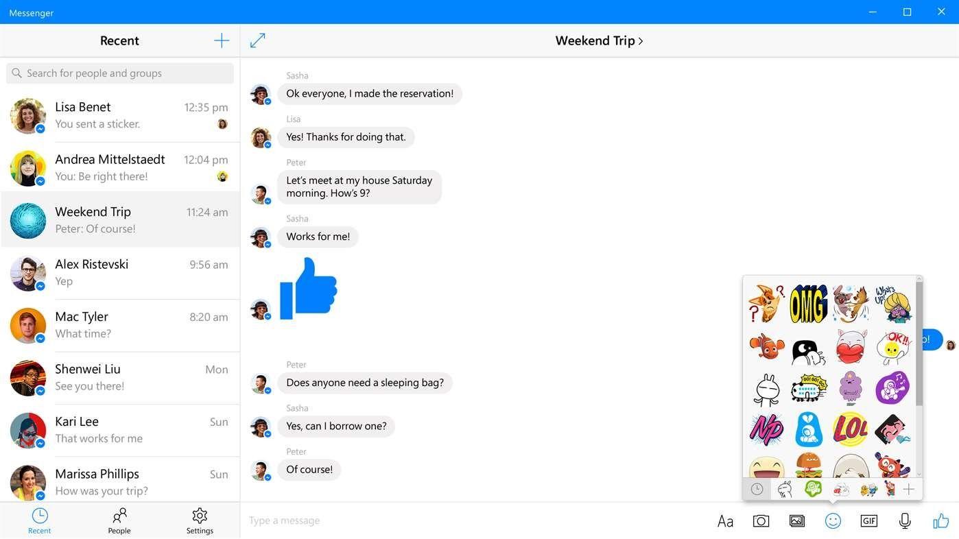 Facebook Messenger for Windows 10 Receives LongAwaited