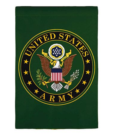 Take A Look At This Green Army Garden Flag By Everything